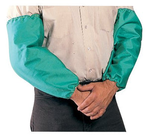 Tillman 6218 Green Fire Resistant Cotton Welding Sleeves-ShopWeldingSupplies.com