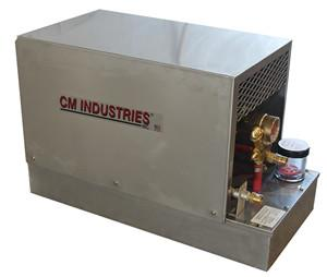 CM Industries WC3500 Stainless Steel Water Cooler - 3 Gal-ShopWeldingSupplies.com