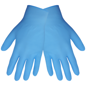Global Glove 705PF Nitrile Gloves (1 Box/100 Gloves)-ShopWeldingSupplies.com