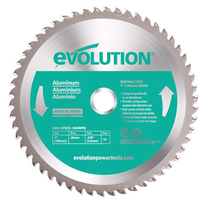 "Evolution Power Tools 7"" Aluminum Cutting Blade (180BLADEAL)-ShopWeldingSupplies.com"