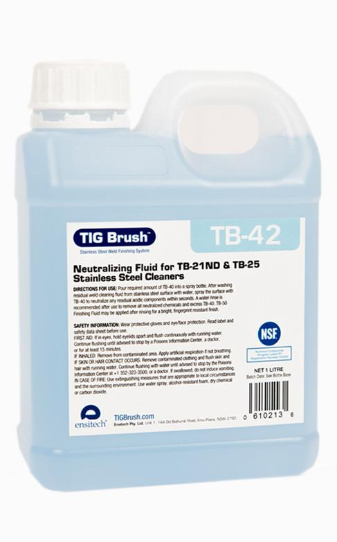 Ensitech TIG Brush TB-42 Neutralizing Fluid (Gallon)