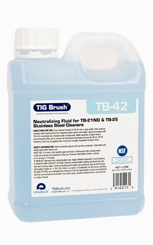 Ensitech TIG Brush TB-42 Neutralizing Fluid (Gallon)-ShopWeldingSupplies.com