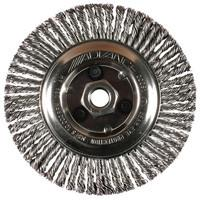 Advance Brush 82186 Carbon Steel Wire Knot Wheel Brush (1 brush)-ShopWeldingSupplies.com