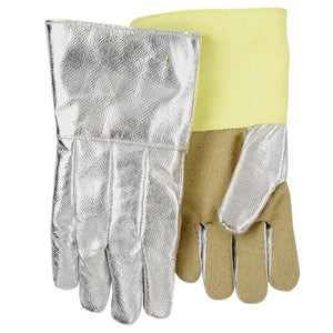 Revco (Black Stallion) AHS714P High Temperature Aluminized Carbon/Kevlar Hi-Temp Work Glove-ShopWeldingSupplies.com