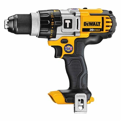 DeWalt DCD985B 20V Max* Lithium-Ion Premium 3-Speed Hammerdrill (Tool Only)-ShopWeldingSupplies.com