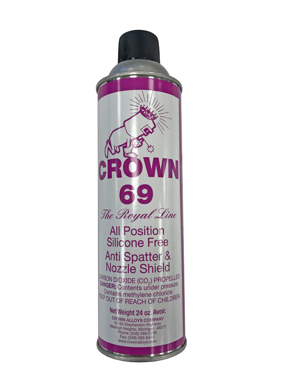 Crown Alloys Crown 69 Anti-Spatter and Nozzle Shield-ShopWeldingSupplies.com