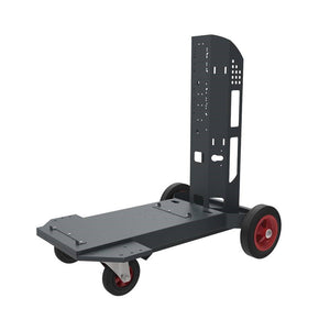 Fronius Machine Cart w/Cylinder Holder TU CAR PRO (Fits TransSteel 2700, TPS 270i, and more)-ShopWeldingSupplies.com