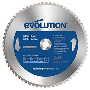 "Evolution 14BLADEST 14"" Steel Metal Cutting Saw Blade-ShopWeldingSupplies.com"