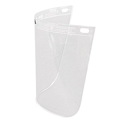 "Fibre-Metal 4118 .060 8x11-1/4"" Clear Faceshield Window"