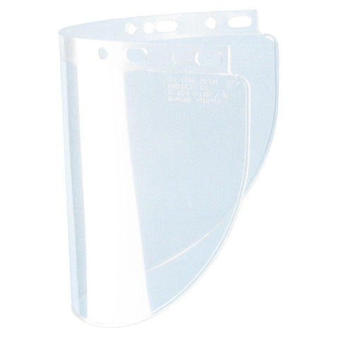 "Fibre-Metal 4178 .060"" 8x16-1/2"" Clear Faceshield Window-ShopWeldingSupplies.com"