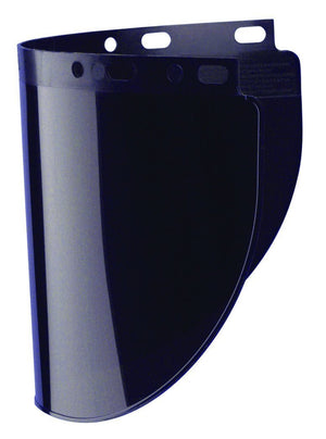 "Fibre-Metal 4178 .060"" 8x16-1/2"" Shade 5 Faceshield Window-ShopWeldingSupplies.com"