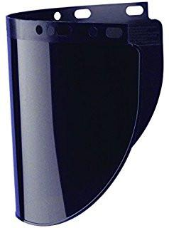 "Fibre-Metal 4199 .060"" 9-3/4X19"" Shade 5 Faceshield Window-ShopWeldingSupplies.com"