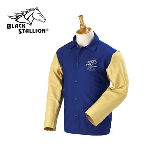 Revco Hybrid™ Performance Blue Welding Jacket - FRB9-30C/PS-ShopWeldingSupplies.com