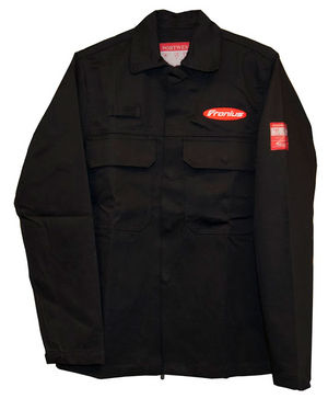 Fronius Bizweld Black Welding Jacket with Pockets (Select a size)-ShopWeldingSupplies.com