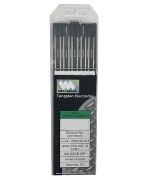 Weldmark 417 Green Pure Ground Tungsten Electrodes (Pack of 10)-ShopWeldingSupplies.com