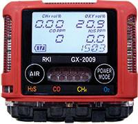 RKI Instruments GX-2009 Portable Confined Space Gas Monitor (1 Gas Option)
