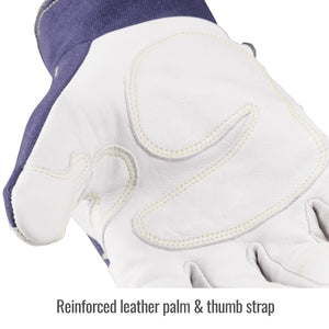 Revco ARC-Rated Goatskin & FR Cotton Mechanics Glove - GX5015-NW-ShopWeldingSupplies.com