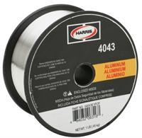 Harris 4043 Aluminum MIG Welding Wire - 16LB Spool (.035, 3/64 and 1/16 Available)-ShopWeldingSupplies.com