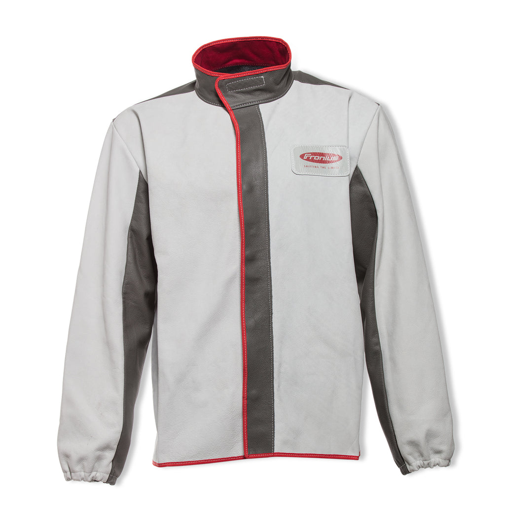 Fronius High End Leather Welding Jacket-ShopWeldingSupplies.com