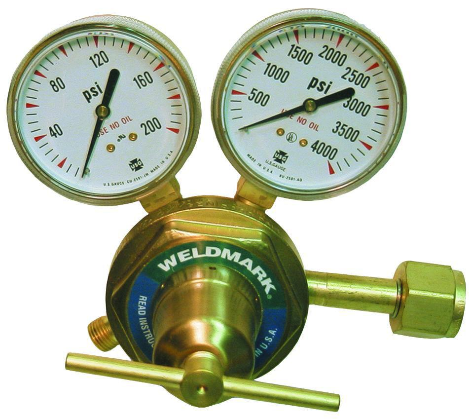 Weldmark 350-125-540 Heavy Duty Oxygen Regulator-ShopWeldingSupplies.com