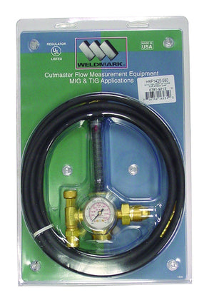 Weldmark HRF1425-580 Flowmeter Regulator with 10ft hose-ShopWeldingSupplies.com