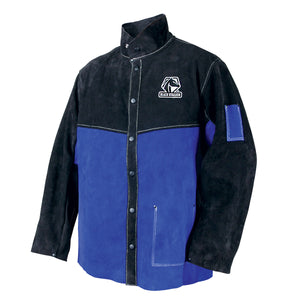 Revco Color Block Leather Welding Jacket - JL1030-BB-ShopWeldingSupplies.com