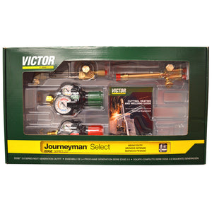Victor Journeyman Select Acetylene Cutting Torch Kit - (0384-2081) - 540/510 Edge 2.0 Plus - Limited Time Special Price!-ShopWeldingSupplies.com
