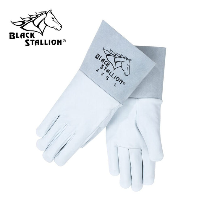 Revco 25G Black Stallion® Grain Goatskin TIG Welding Gloves (1 pair)