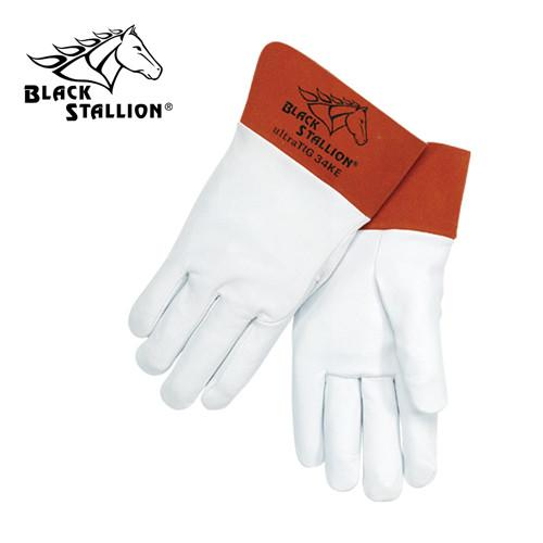 Revco 34KE TIG Welding Gloves: Kidskin Short Cuff - Large