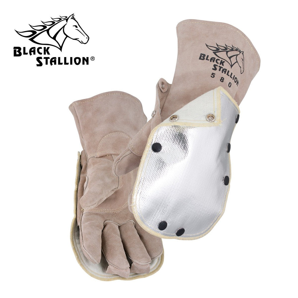 Revco 580 Premium Split Cowhide Stick Welding Gloves-ShopWeldingSupplies.com