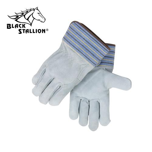 Revco 5FB Gray Quality Full Back Split Cowhide Work Gloves (Large)