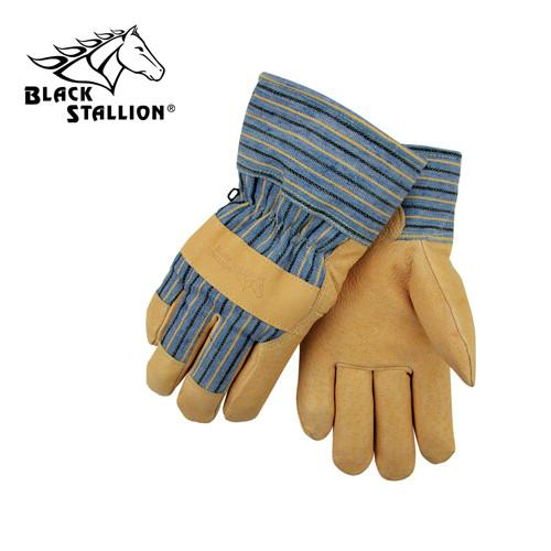 Revco 5LP Grain Pigskin Leather Palm Winter Work Gloves