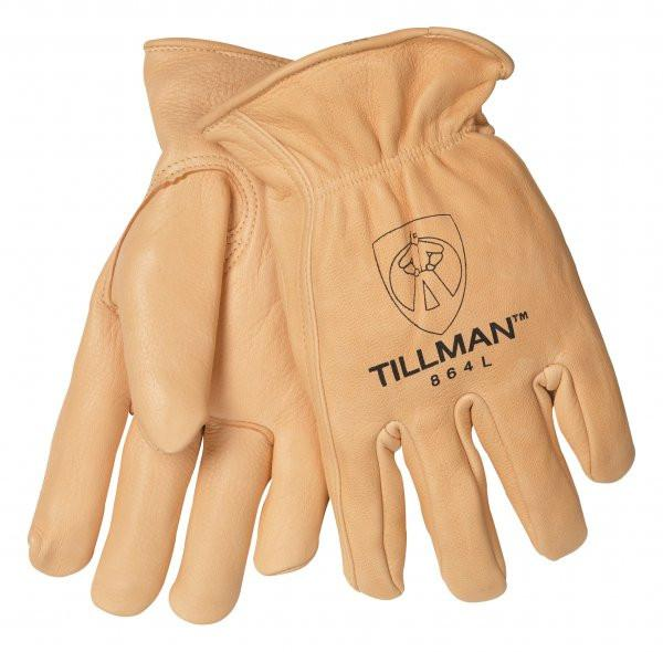 Tillman 864 Premium Top Grain Gold Deerskin Work Gloves