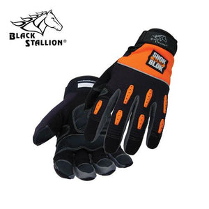 Revco 98SB ToolHandz® Vibration Dampening Synthetic Leather Mechanic's Gloves-ShopWeldingSupplies.com