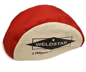 Flame Resistant Welding Beanie (Red/White)-ShopWeldingSupplies.com