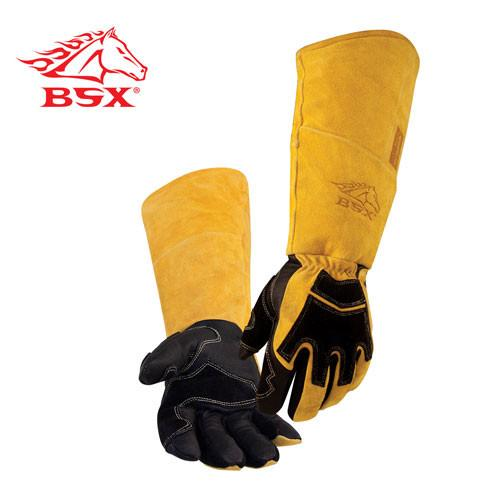 Revco BS99 BSX® Premium Split Cowhide/Pigskin Stick Welding Gloves