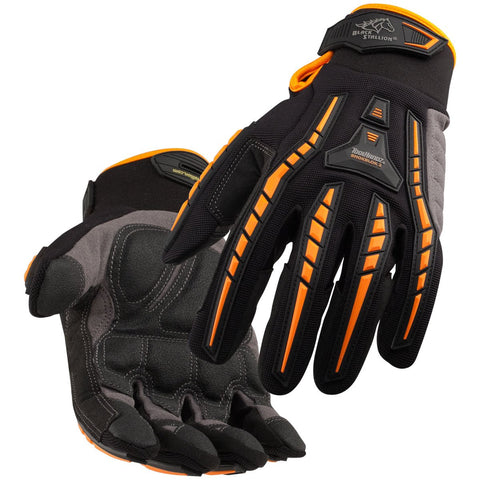 Black Stallion (Revco) GX100 ToolHandz® Anti-Impact Mechanics Work Gloves with BumpPatch-ShopWeldingSupplies.com