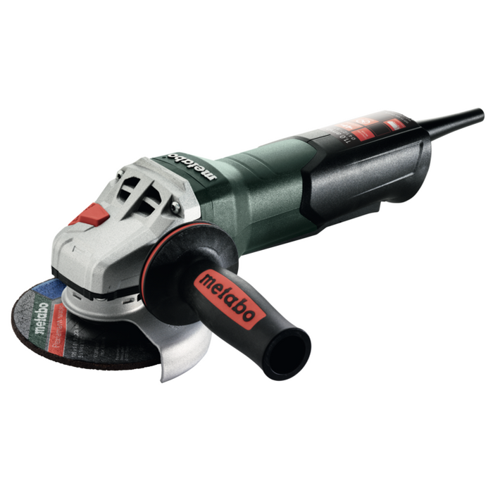 "Metabo WP 11-125Q 4-1/2"" 11 amp Quick Angle Grinder (603624420)"