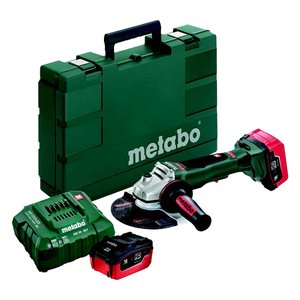 "Metabo WPB-18 LTX 115 4 1/2"" Cordless Grinder, Battery Powered - 613074620-ShopWeldingSupplies.com"