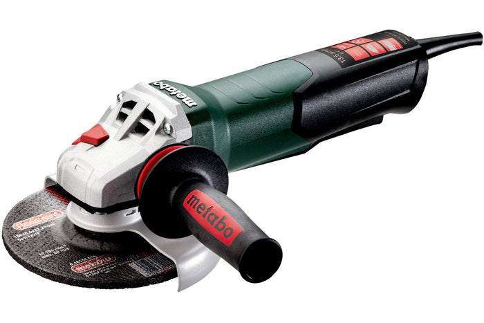 "Metabo Angle Grinder - WEP15-150Q Quick 6"" Electronic Paddle Switch Angle Grinder - 600488420"