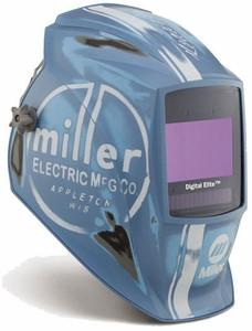 Miller Electric Digital Elite™, Vintage Roadster™ Auto-Darkening (8-13 Shade) Welding Hood