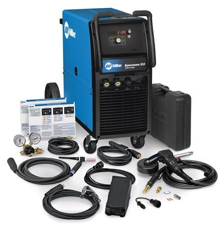 Miller Electric 210 Syncrowave TIG Welder & MIG Package - 951616