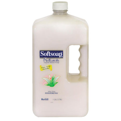 Softsoap Palmolive Aloe-Vera Liquid Hand Soap - 1 Gallon (1 Case)-ShopWeldingSupplies.com
