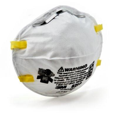 3M N95 8210 Disposable Particulate Respirator (20/box) 1 box-ShopWeldingSupplies.com