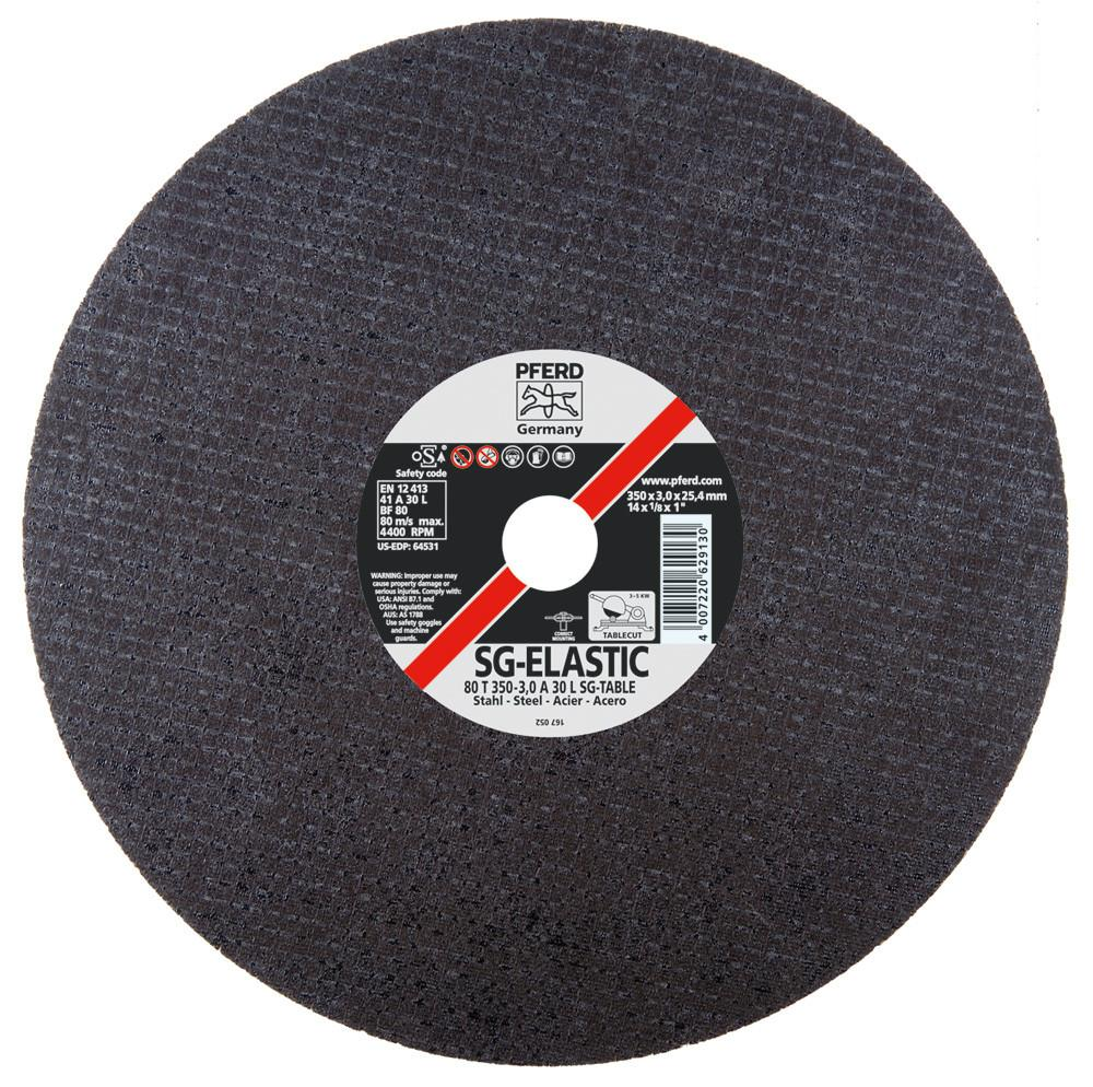 "Pferd 64531 SG-CHOP-HD 14""x1/8""x1"" Cut-Off Wheel-ShopWeldingSupplies.com"
