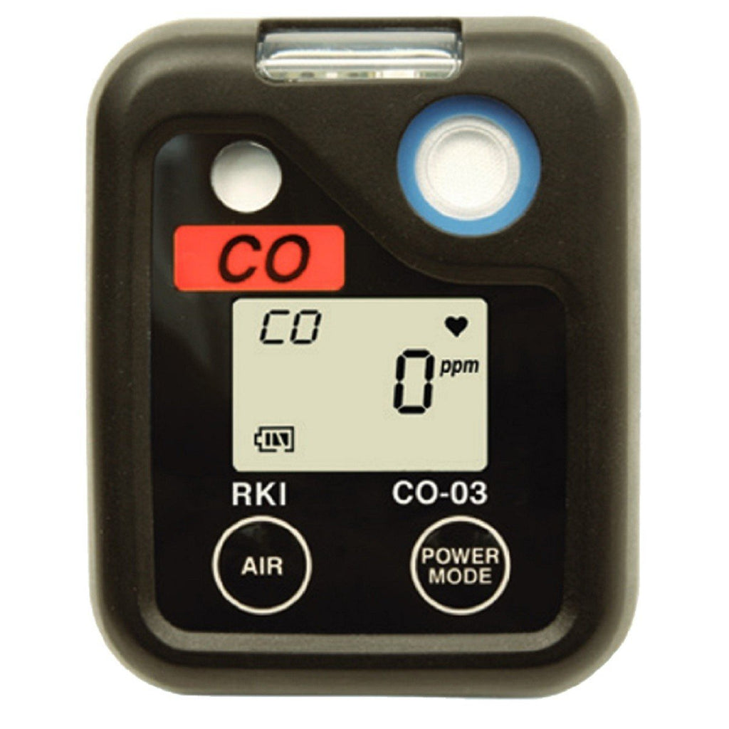 RKI Instruments 03 Series Portable Single Gas Detection Monitor-ShopWeldingSupplies.com