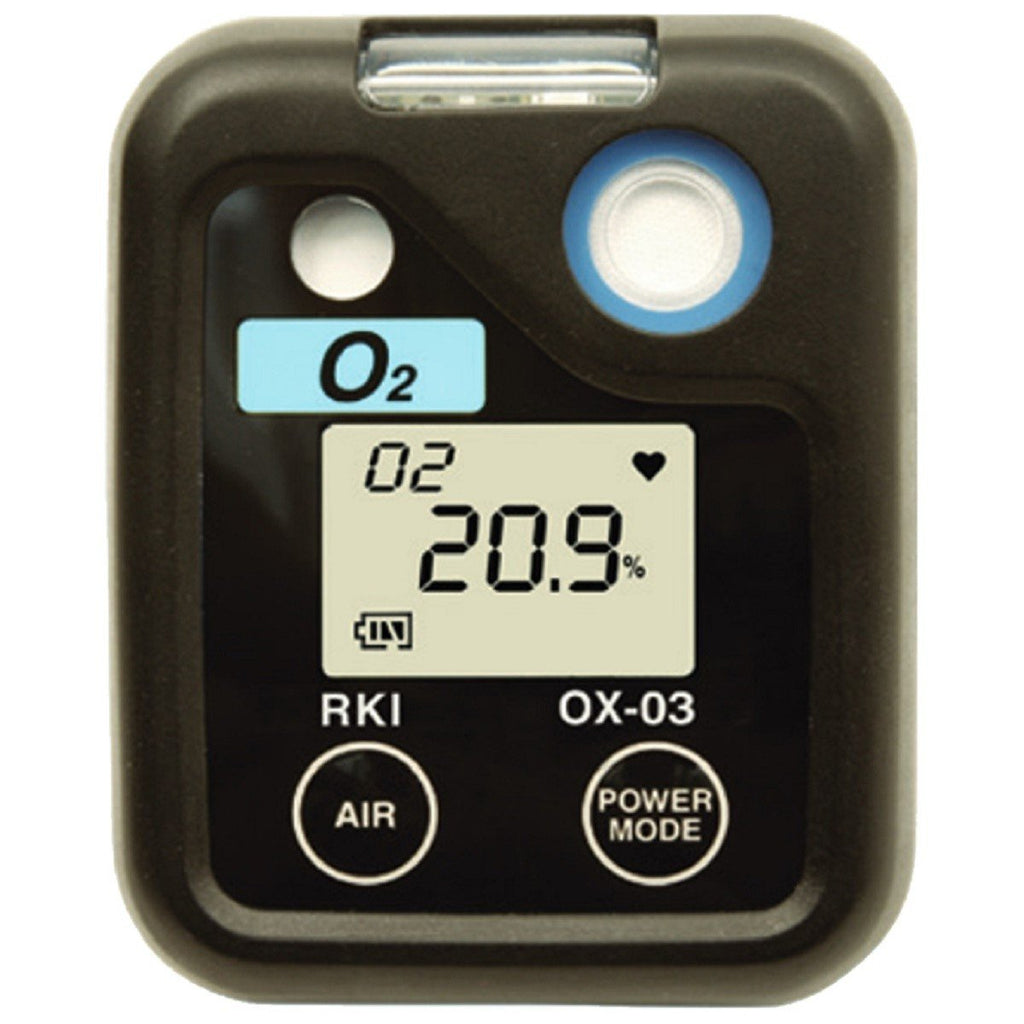 RKI INSTRUMENTS 03 SERIES PORTABLE SINGLE GAS DETECTION MONITOR