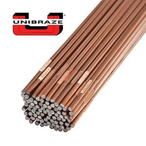 "Unibraze ER70S-2 Carbon Steel TIG Welding Rod 36"" Cut Lengths (10LB)-ShopWeldingSupplies.com"