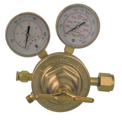 Victor 0781-0527 SR 450 High Capacity/Heavy Duty Oxygen Regulator-ShopWeldingSupplies.com