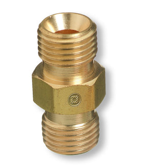 Western Enterprises 30 Oxygen RH Male B-Size Coupler-ShopWeldingSupplies.com